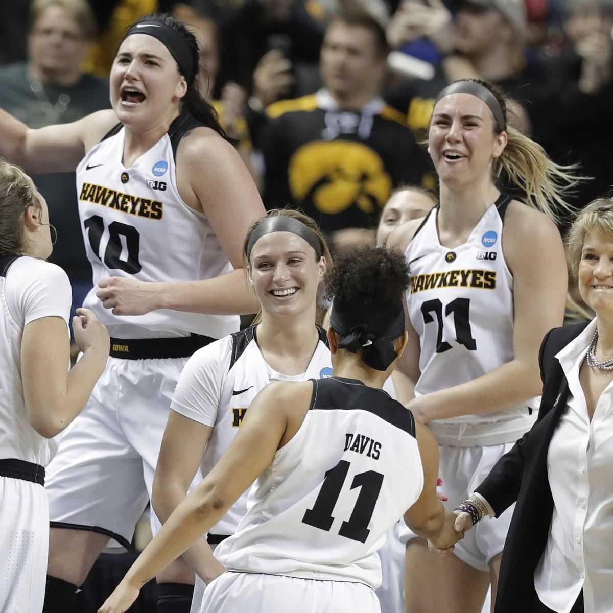 1e188779dc17 NCAA Women s Basketball Tournament 2019  Sweet 16 Scores and Elite 8 Bracket