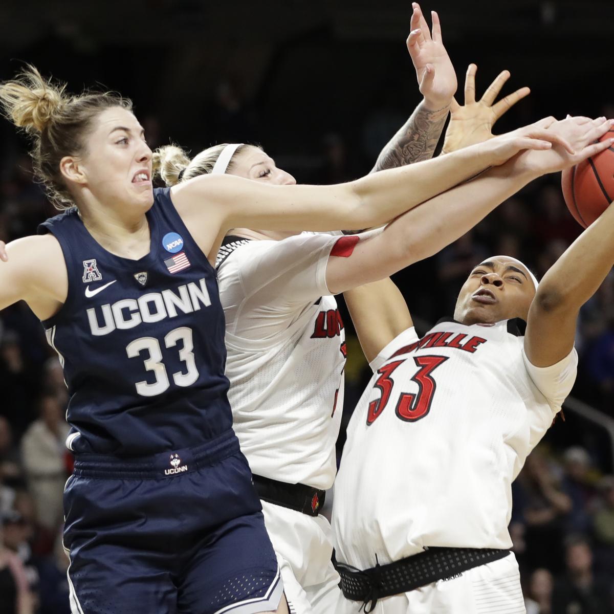 NCAA Women's Basketball Tournament 2019: UConn Upsets ...