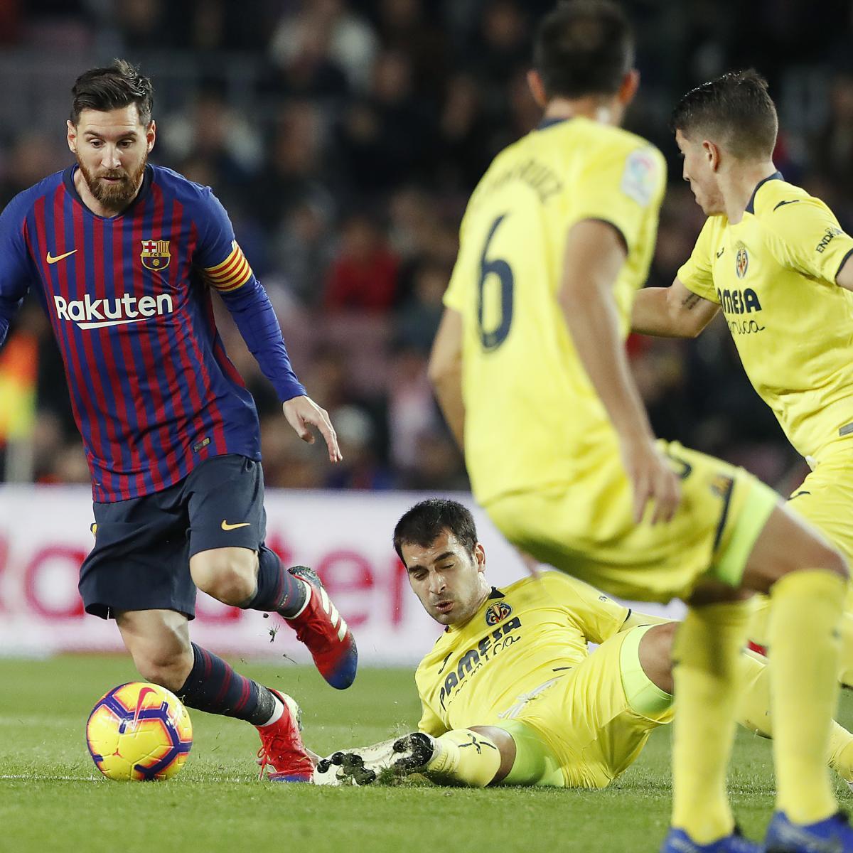 Celta Vigo Vs Barcelona Score Prediction: Villarreal Vs. Barcelona: Odds, Preview, Live Stream, TV