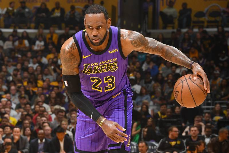 93ae23a5aa0e Lakers News  LeBron James Likes  Being Counted Out  After Missing Playoffs