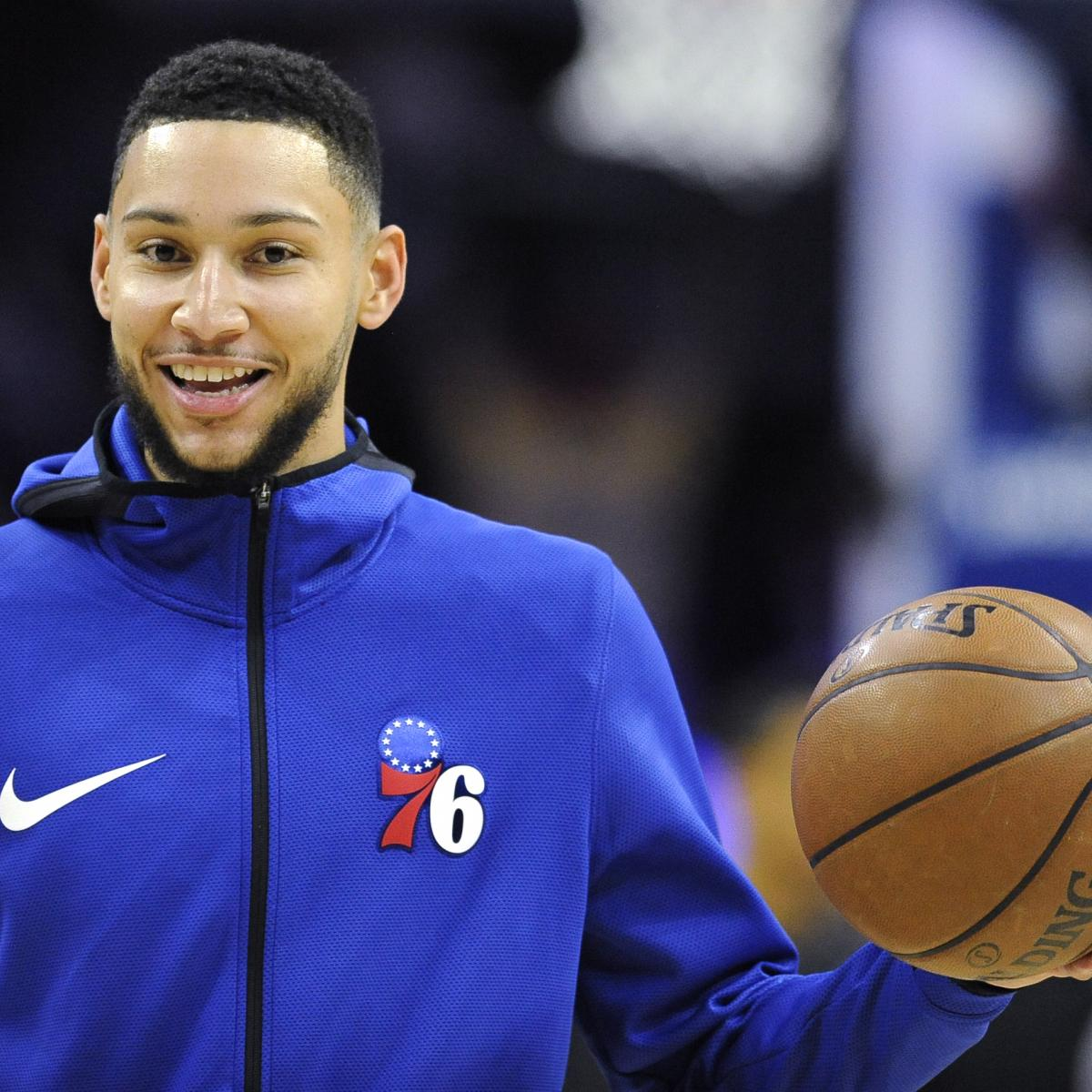 Last year's NBA Rookie of the Year, Philadelphia 76ers point guard Ben Simmons , told Keith Pompey of the Philadelphia Inquirer that he believes Luka Doncic should win the award this season...