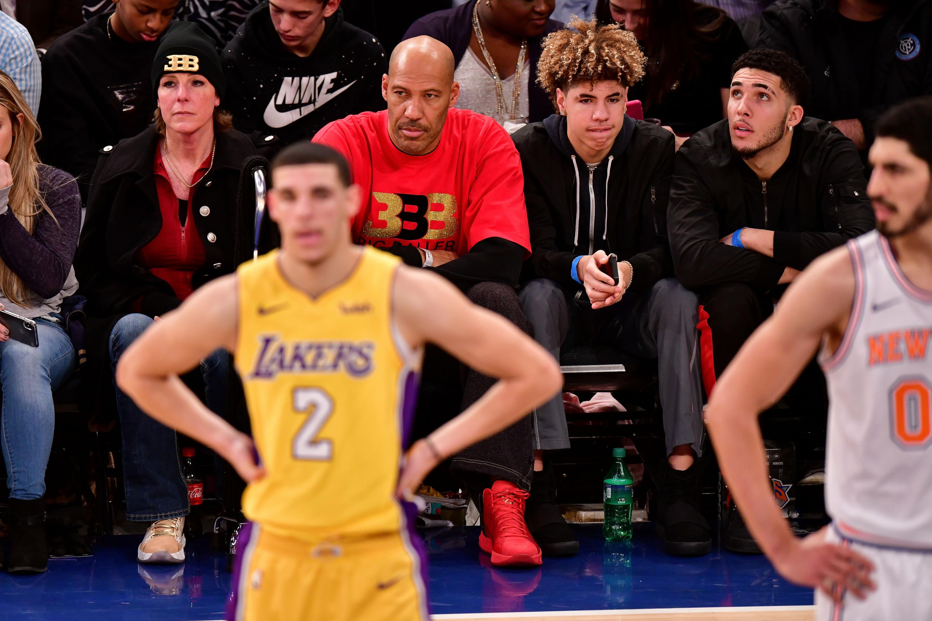 Lavar Ball Talks Lonzo Ball Covering Up Big Baller Brand Tattoo Amid Nike Rumors Bleacher Report Latest News Videos And Highlights