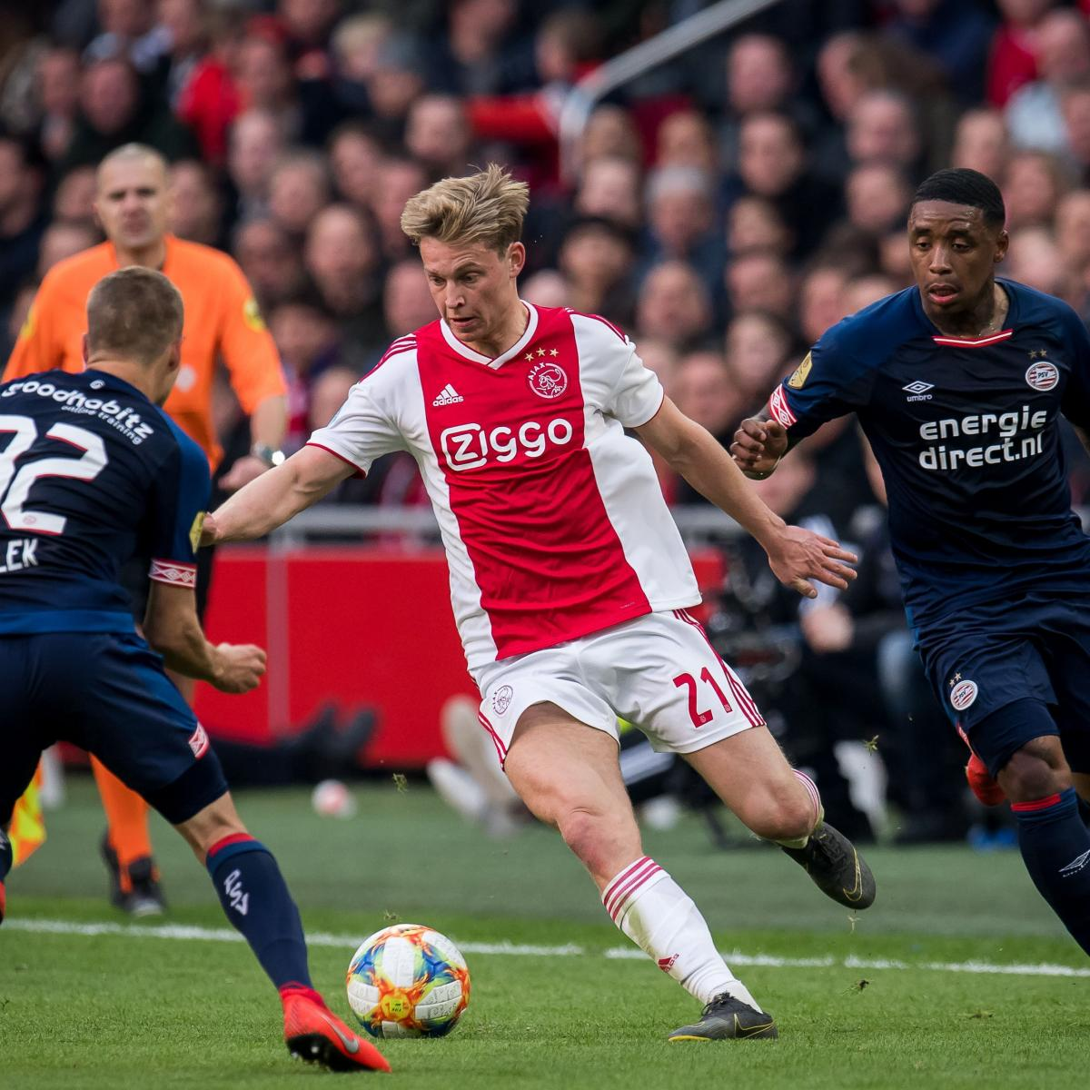 Ajax's Frenkie De Jong Confirms He Snubbed Approach From