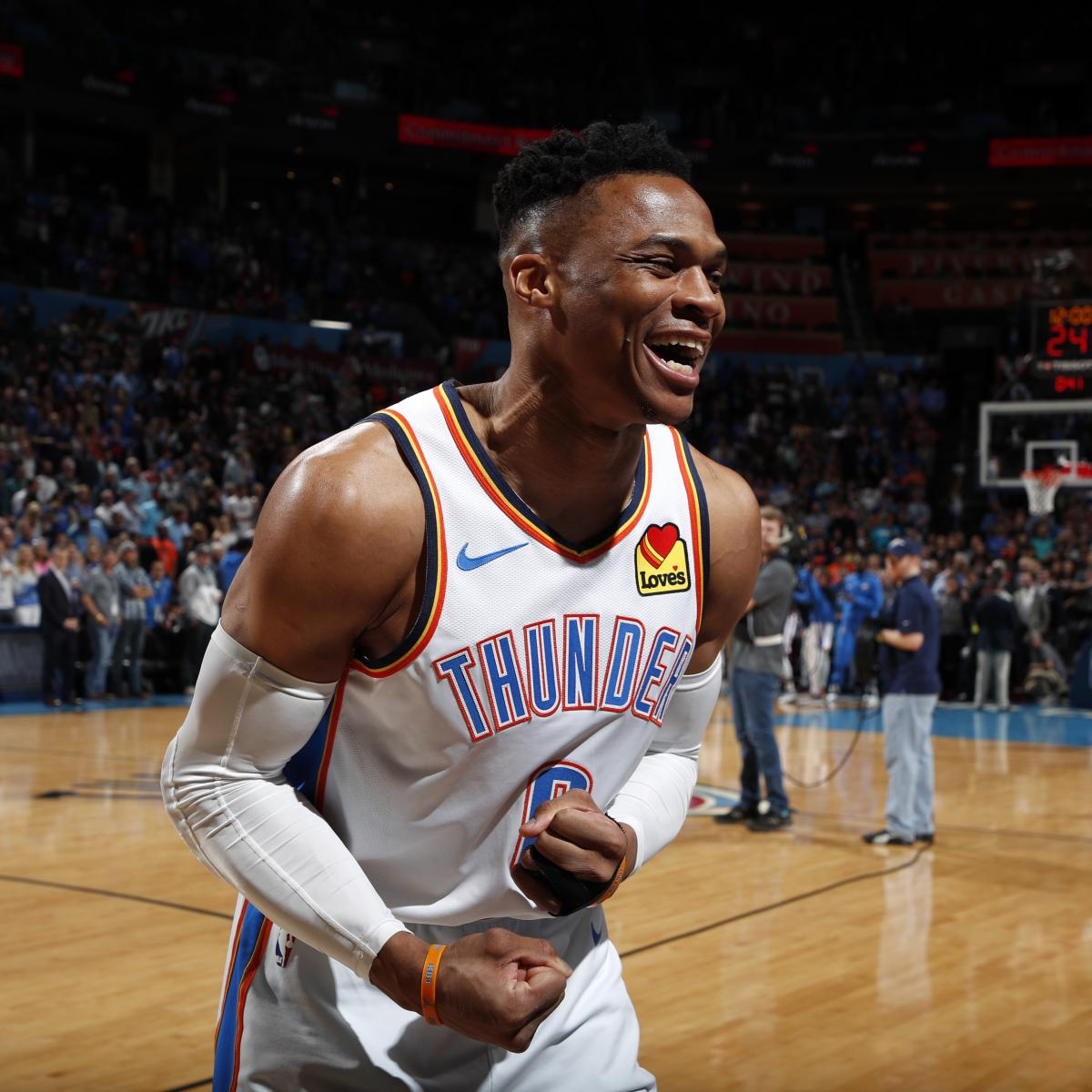 Russell Westbrook On Being Hit By Young Nuggets Fan Fans: OKC's Russell Westbrook Makes NBA History While Honoring
