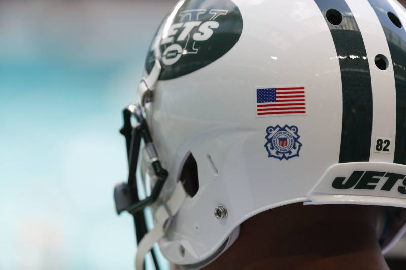 purchase cheap 4f6ca 4649a Video: Watch New York Jets Unveil New 'Gotham Green' Jerseys ...