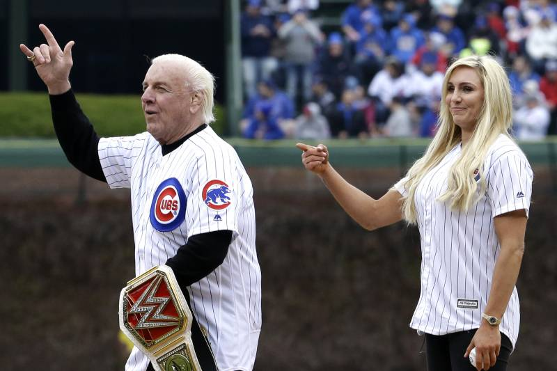 Ric Flair On Daughter Charlotte Before Wwe Wrestlemania I