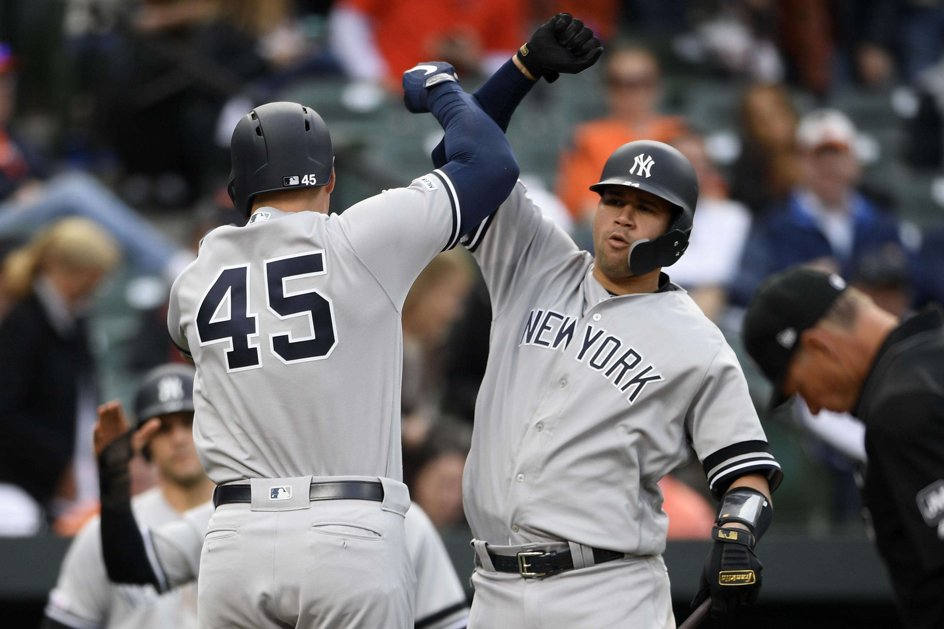 Yankees Break Team Record Of Most Consecutive Runs Scored By Home