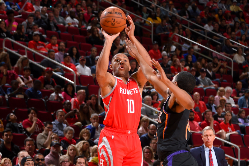 Video: Watch James Harden, Rockets Make NBA-Record 27 Three-Pointers vs. Suns