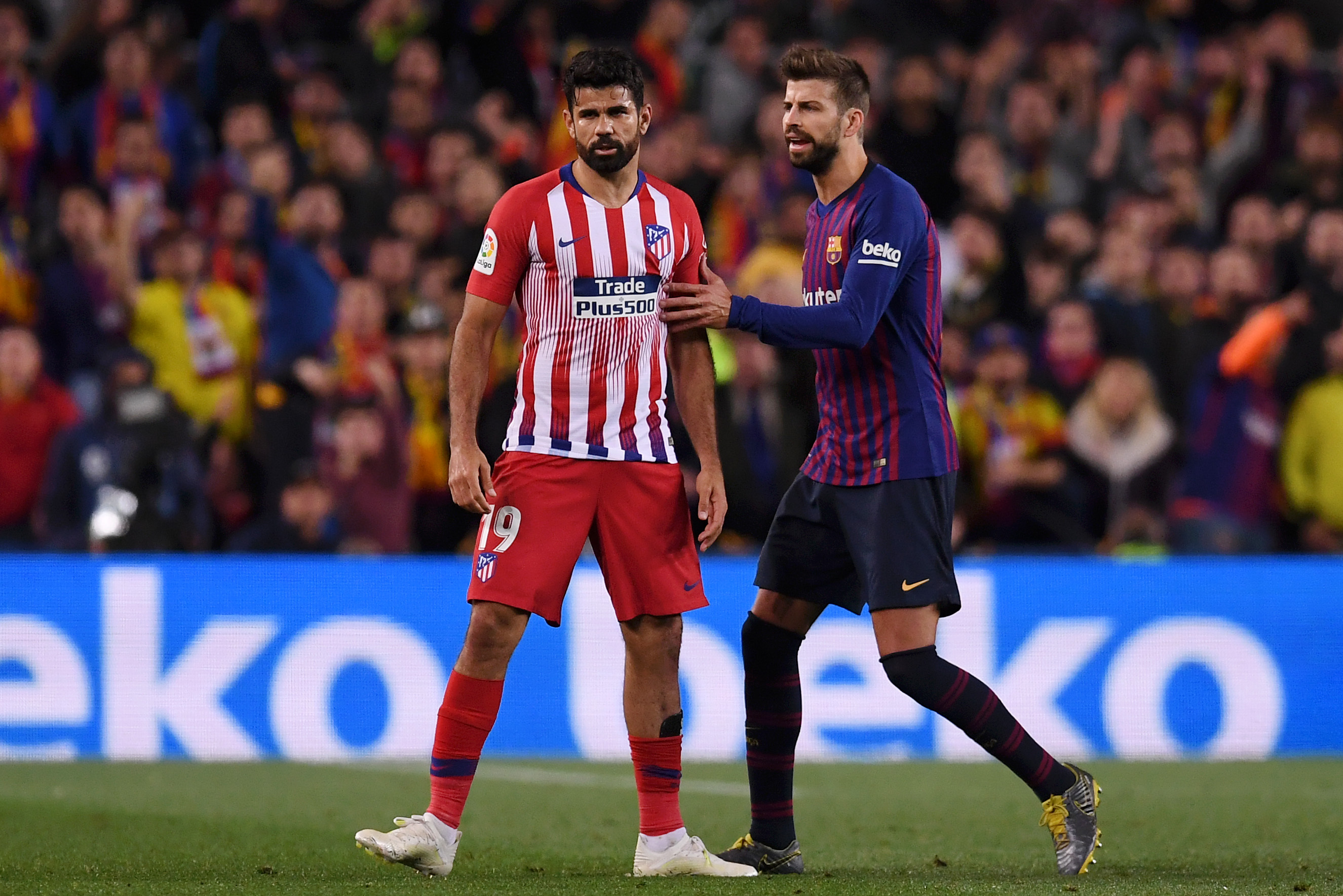 Diego Costa Reportedly Facing 8 Game Ban Following Red Card Vs Barcelona Bleacher Report Latest News Videos And Highlights