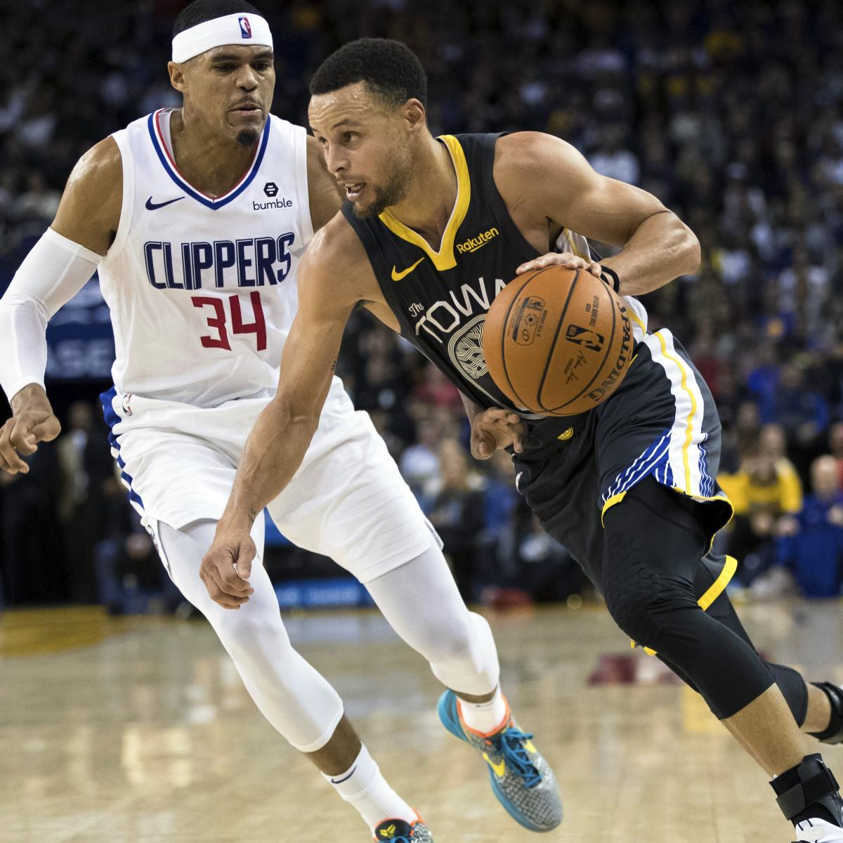 Bleacher Report Nba Staff S 2019 Playoff Predictions: NBA Playoff Schedule 2019: 1st Round TV Info And