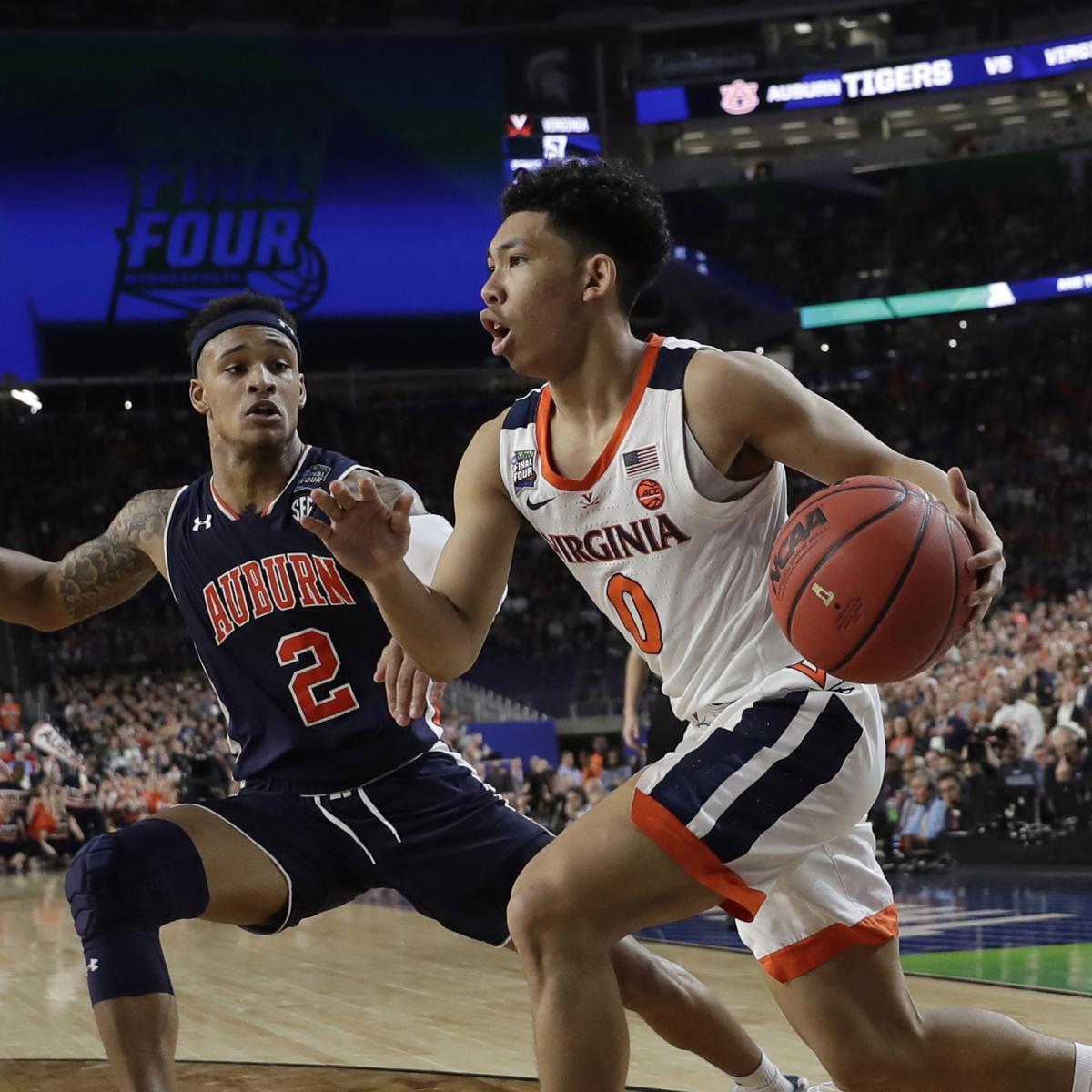 UVA Vs. Texas Tech: 2019 NCAA Championship Vegas Odds