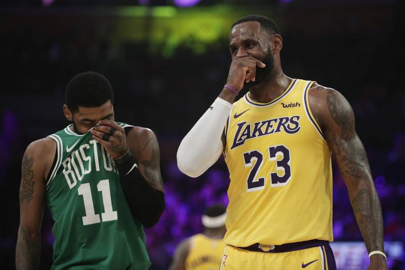285810e12b93 Lakers Rumors  Celtics  Kyrie Irving Will Meet with LA in Free Agency