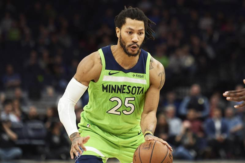 b86c1ef2f02 Derrick Rose's Agent: Timberwolves PG 'Open' to Return to Bulls in Free  Agency
