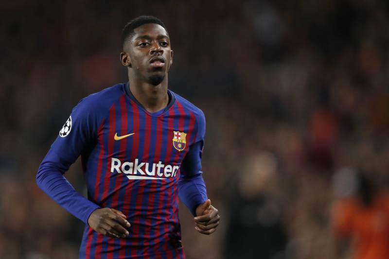 bff7911c7b0 Ousmane Dembele of FC Barcelona during the UEFA Champions League round of  16 match between FC