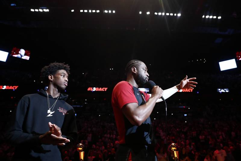 Video: Dwyane Wade's Son Zaire Recreates Commercial as Tribute to