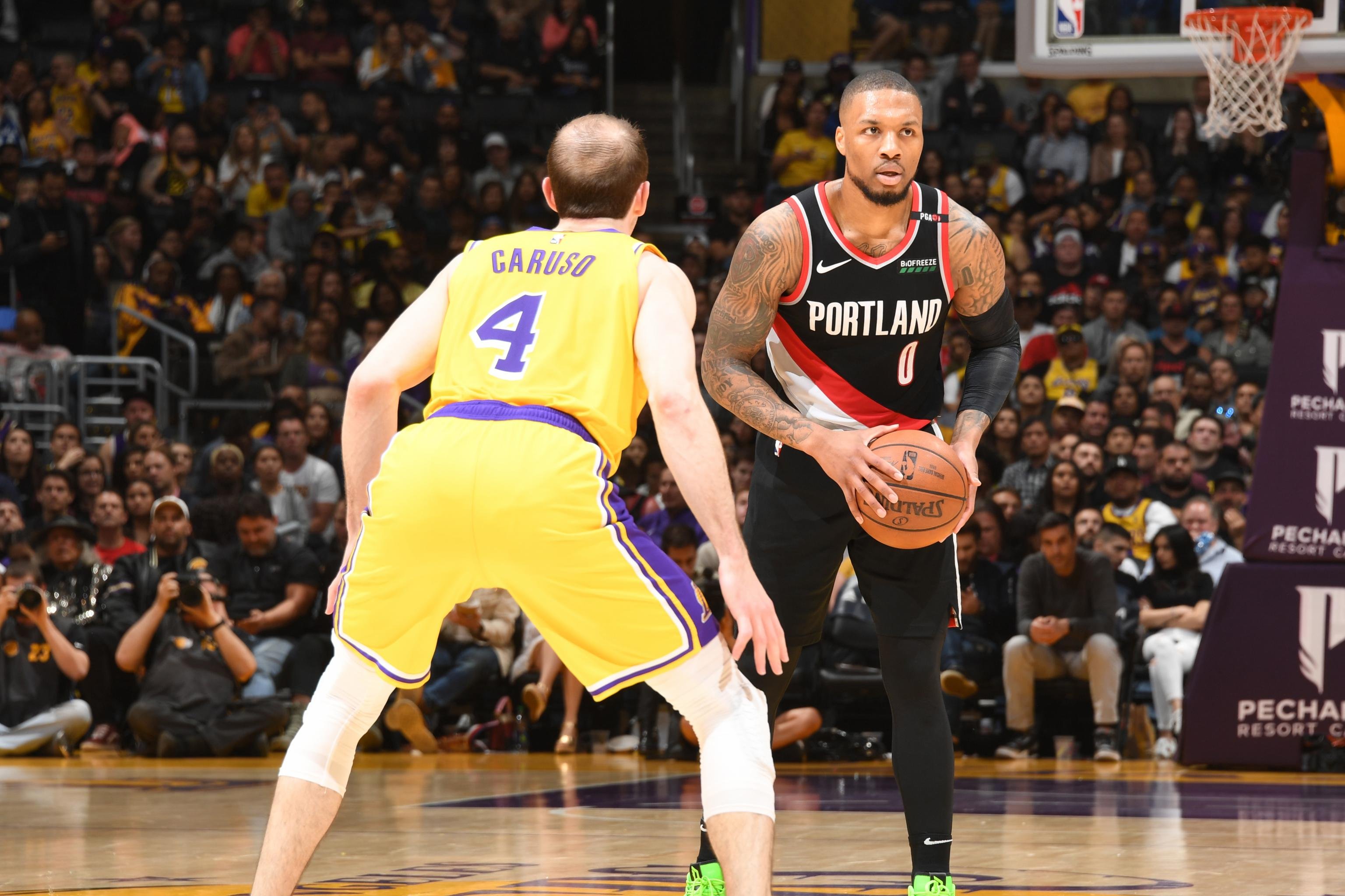 dee806f7912 Moe Harkless Buzzer-Beater Powers Trail Blazers Past LeBron James-Less  Lakers