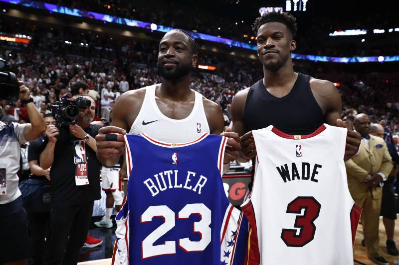 new style 5c67f aa6f8 Dwyane Wade: Miami Is 'Forever Going to Be My Home' After ...