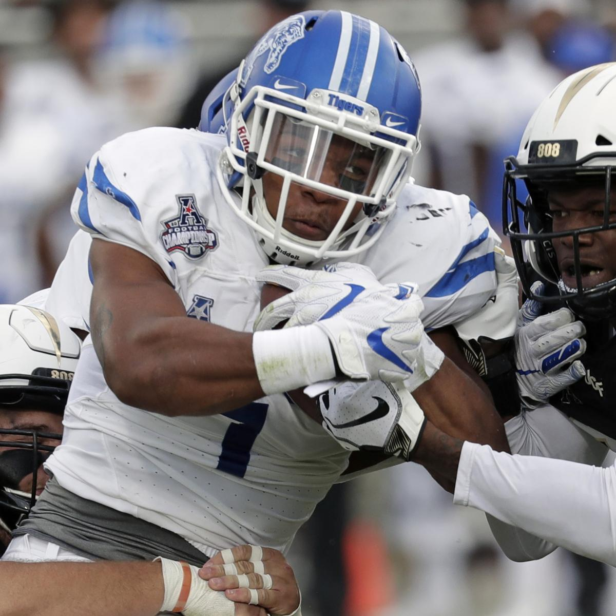 Tony Pollard Nfl Draft 2019 Scouting Report For Dallas