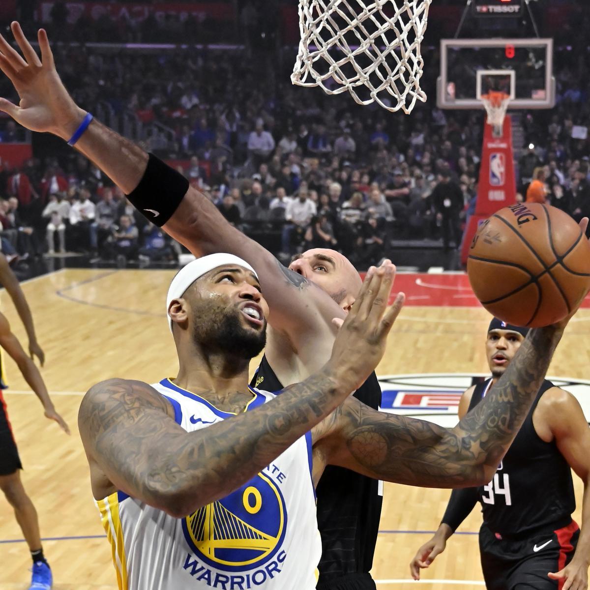 NBA Playoff Schedule 2019: Known Dates, TV, Live-Stream