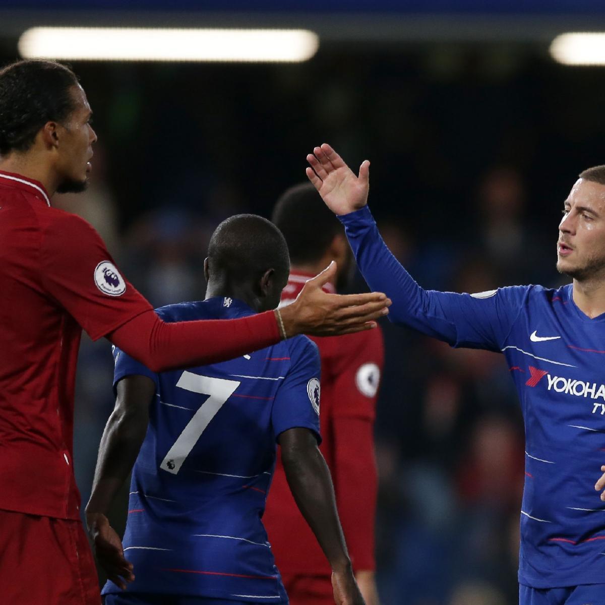 Liverpool Vs. Chelsea: Odds, Preview, Live Stream, TV Info