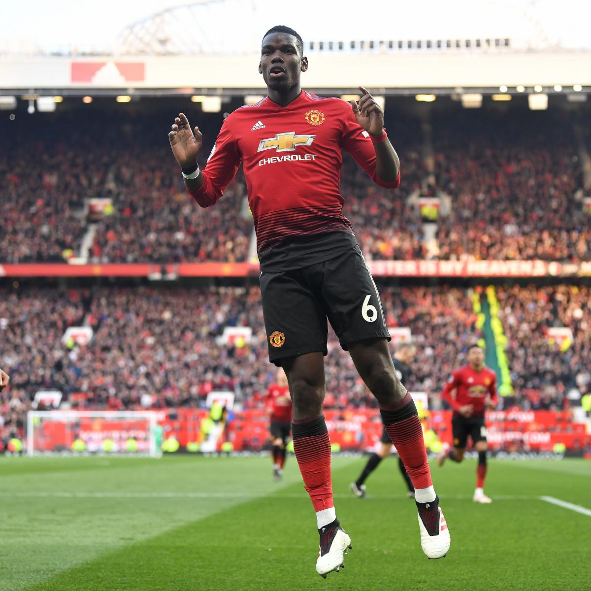 Manchester United 3 1 Huddersfield Result: EPL Results: Saturday's Week 34 Scores, Updated 2019
