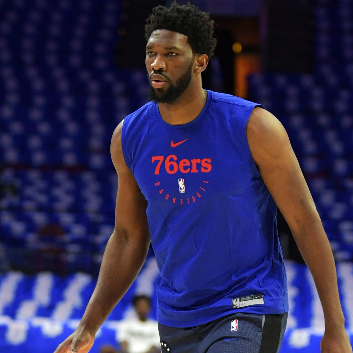 Joel Embiid Says He Checked Cellphone Because Amir Johnson