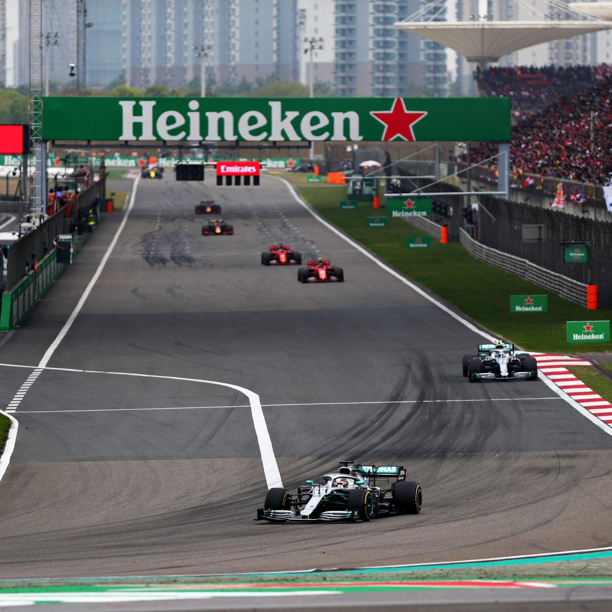 Chinese F1 Grand Prix 2019 Results: Winner, Standings