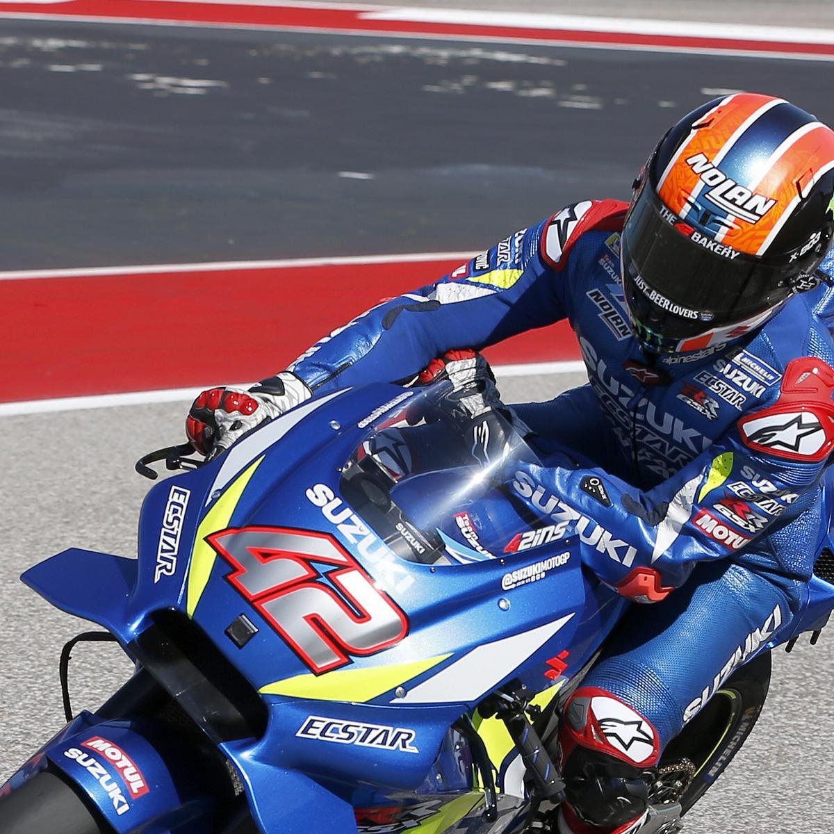 MotoGP Grand Prix of Americas 2019 Results: Alex Rins Secures 1st Career Win | Bleacher Report ...