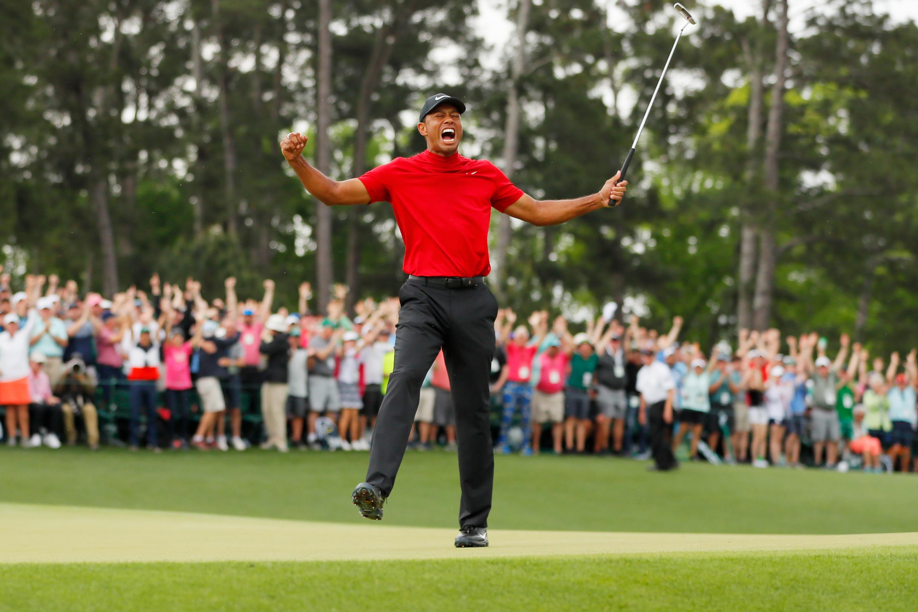 2020 Masters Odds: Tiger Woods Favored to Win over Dustin ...