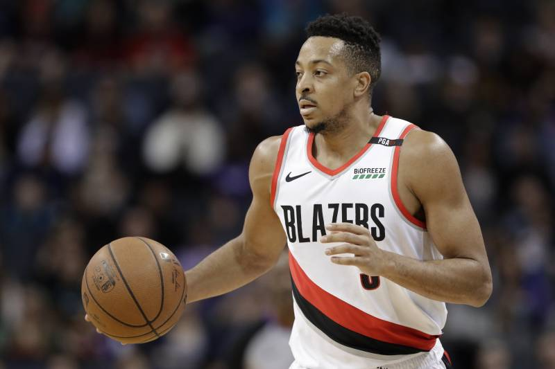 f3cf2f8d4ad CJ McCollum Calls Twitter User Jennifer a  Legend  After Blazers Win vs.  Thunder
