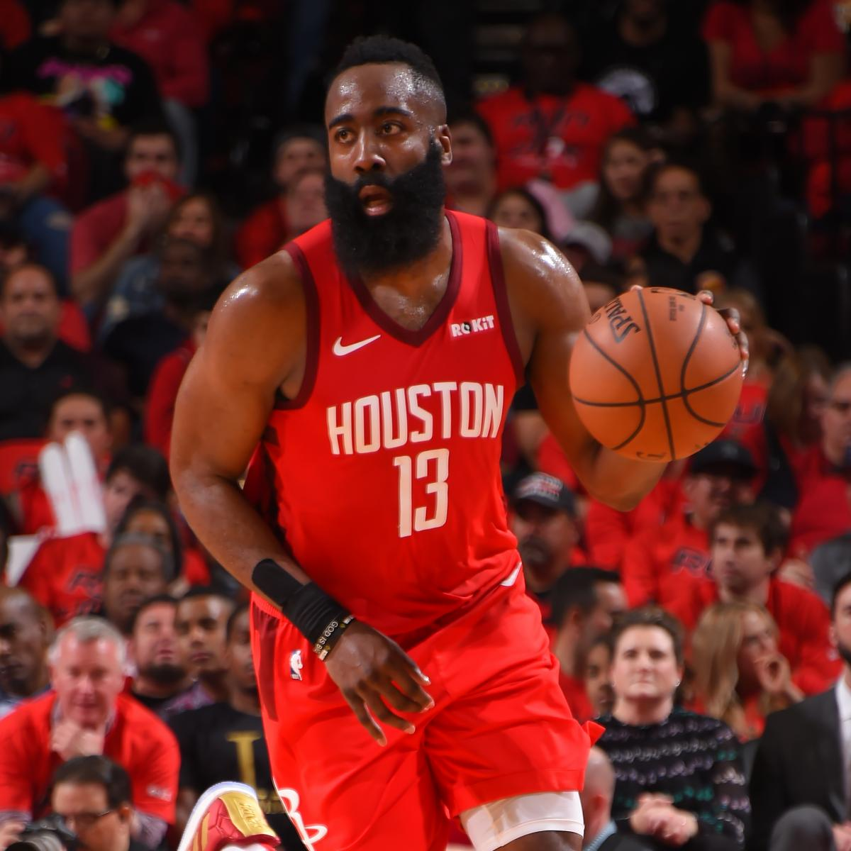 James Harden Quadruple Team: James Harden Drops 29 As Rockets Cruise To Blowout Win Vs