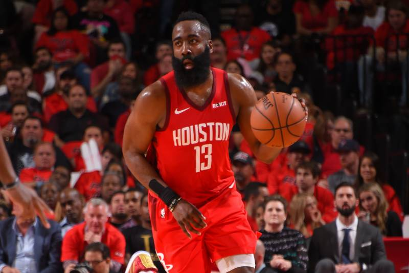 ceb0c722af56 James Harden Drops 29 as Rockets Cruise to Blowout Win vs. Jazz in ...