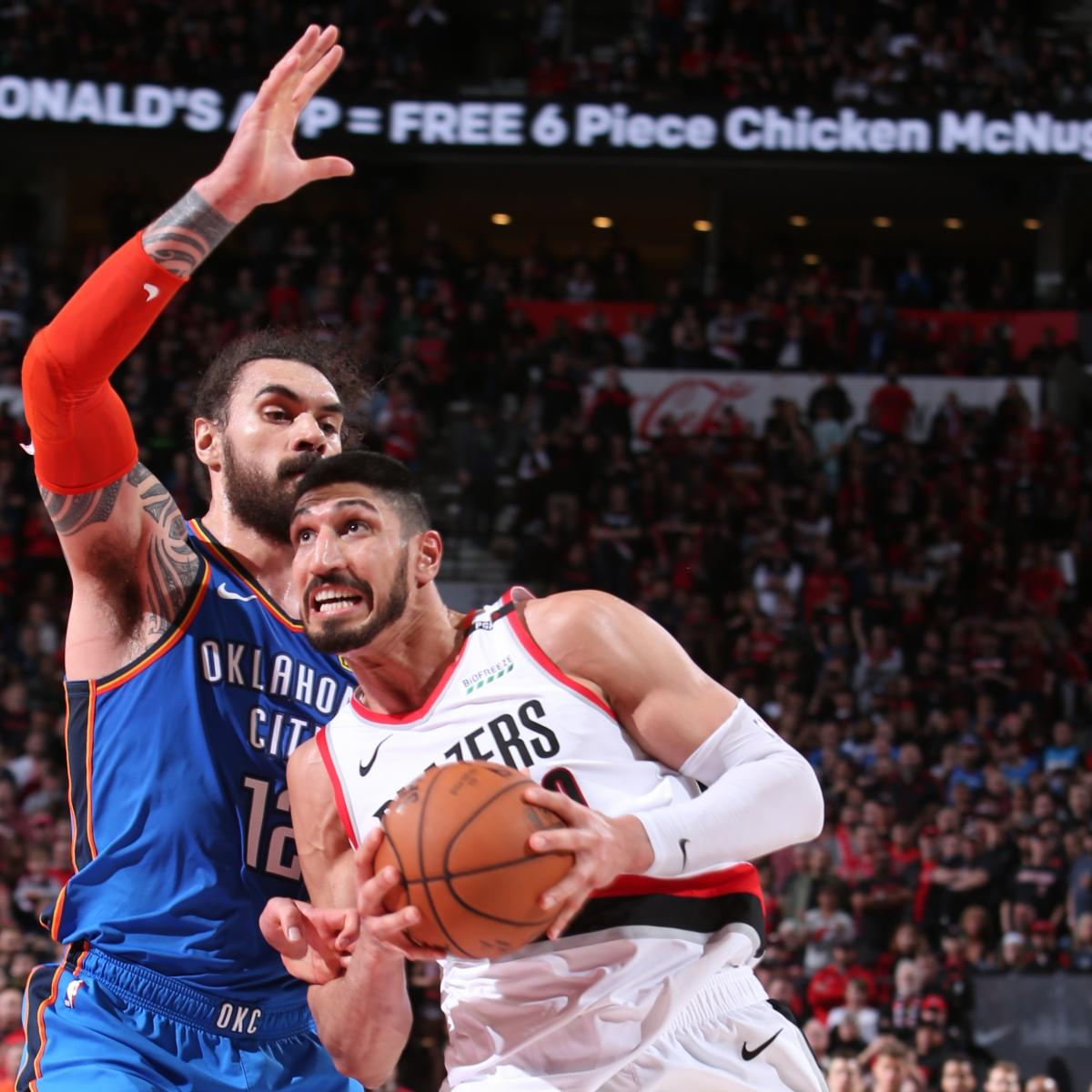 Blazers Kanter: After Blazers' Win, Enes Kanter Says Knicks Thought He Was