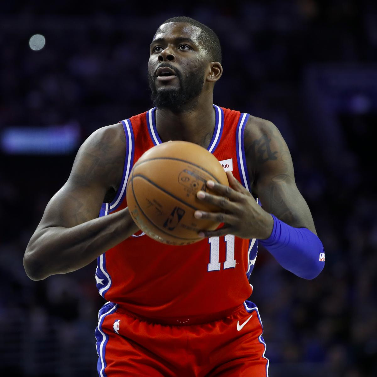 NBA Rumors: 76ers' James Ennis Cleared for Game 2 vs. Nets After Quad Injury