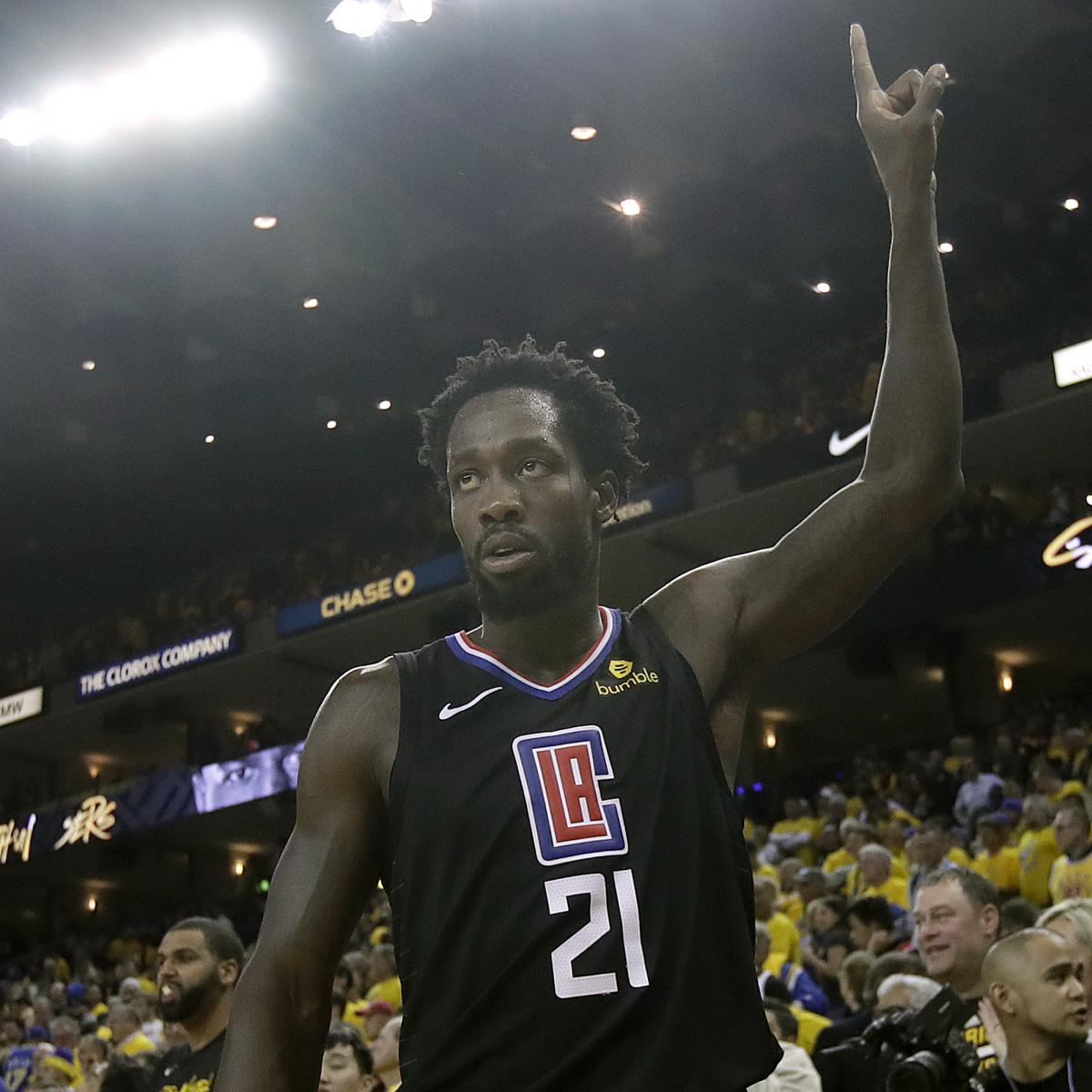 Warriors Come Out To Play Bleacher Report: Pat Beverley Celebrated Warriors Upset By Working Out In
