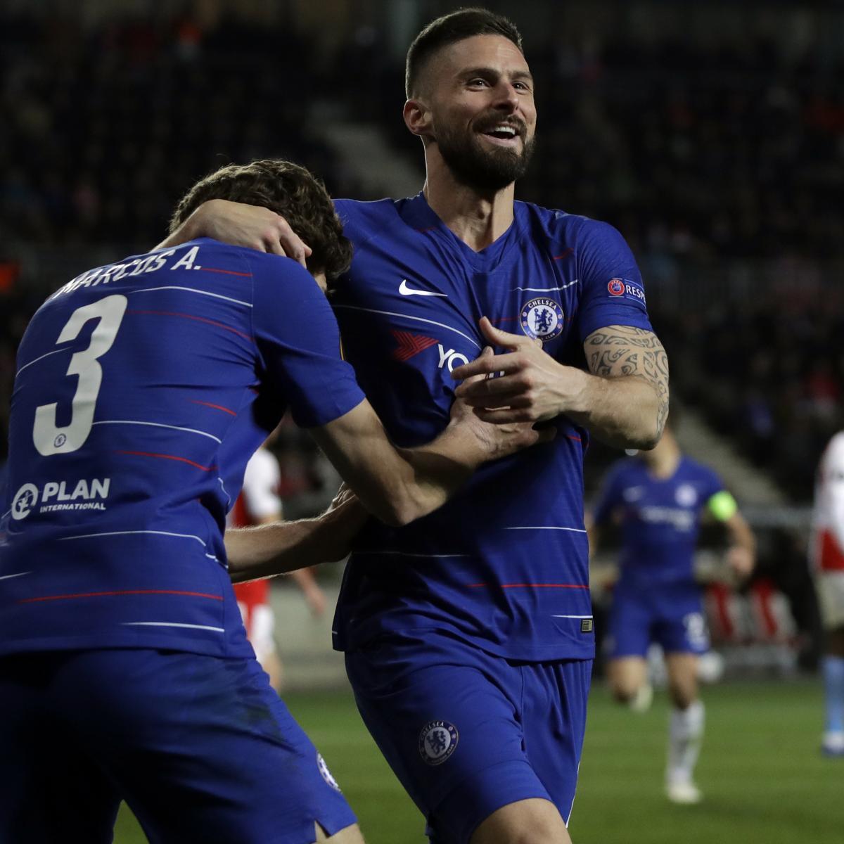 Champions League 2019 Round Of 16 Leg 2 Live Stream Tv: Chelsea Vs. Slavia Prague: Odds, Preview, Live Stream, TV