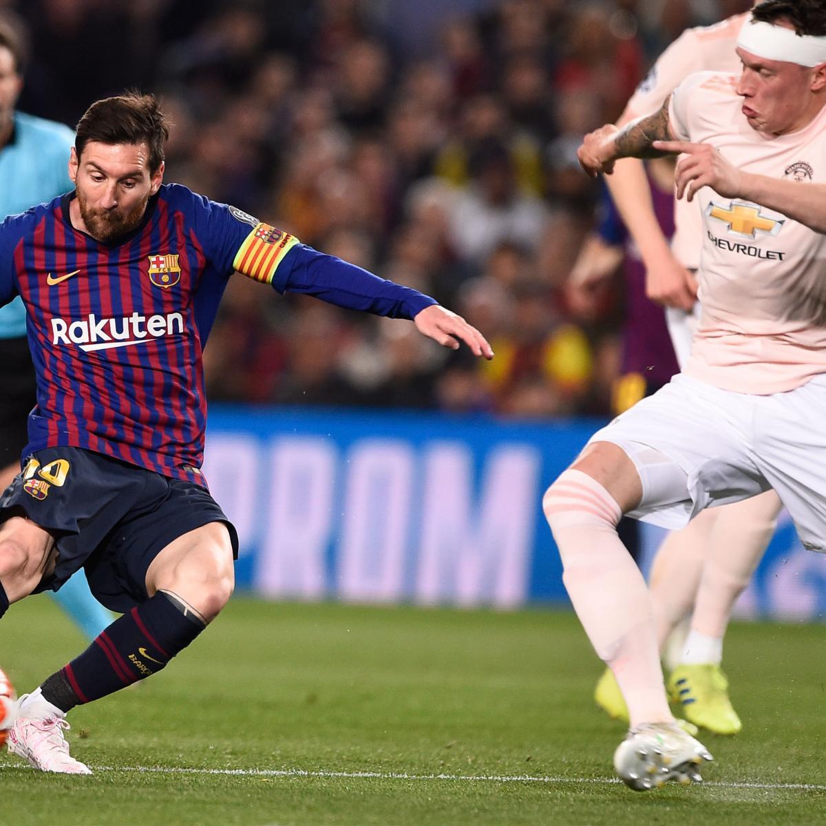 52bc8e622 Lionel Messi Brace Leads Barcelona to Win vs. Manchester United ...