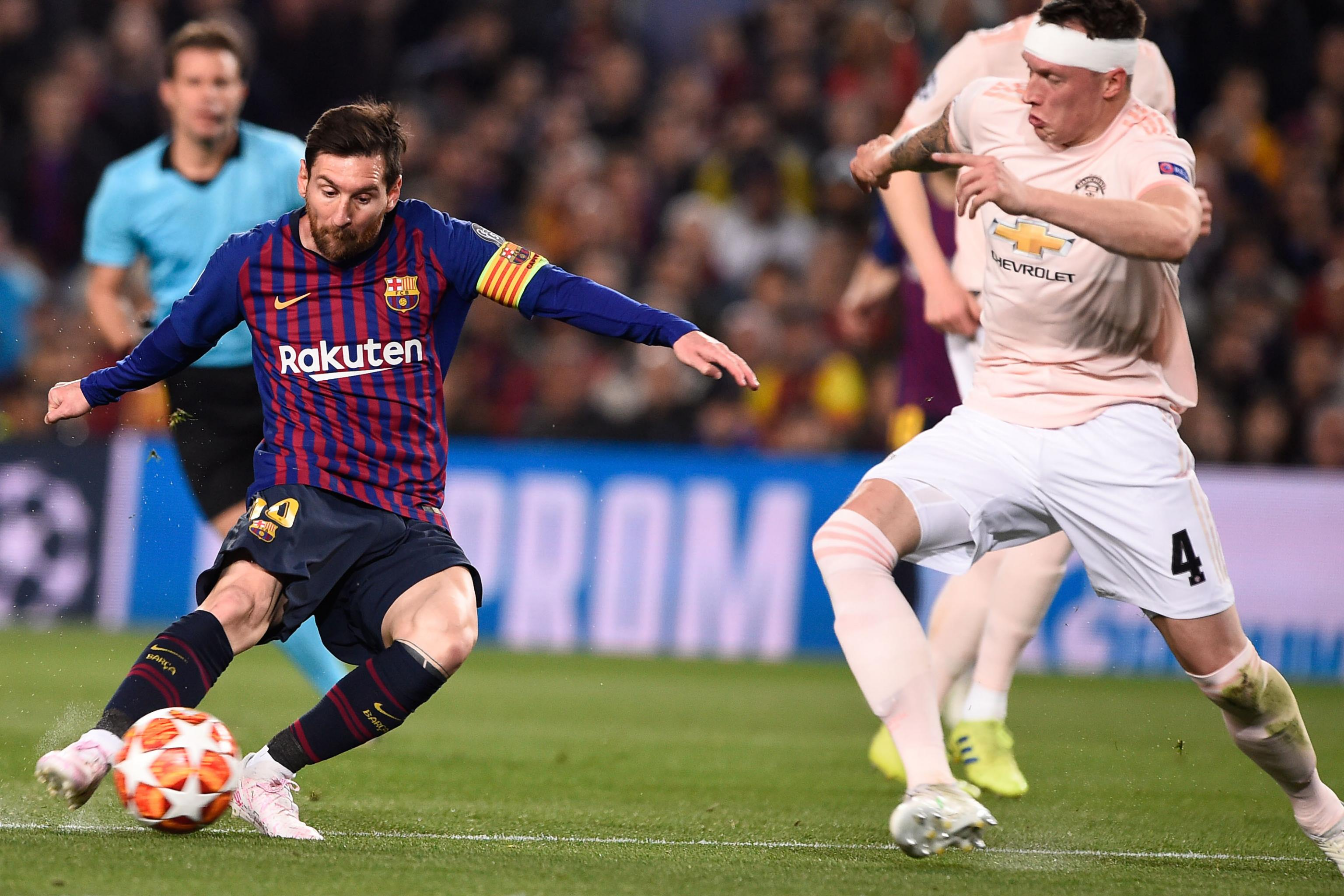 Lionel Messi scored a brace but believes it was the team spirit which led Barcelona through to the UEFA Champions League semi-final