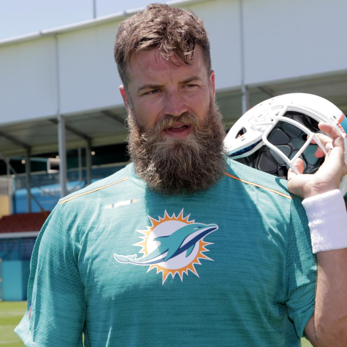 Dolphins Ryan Fitzpatrick Blames Eating Birthday Cake For