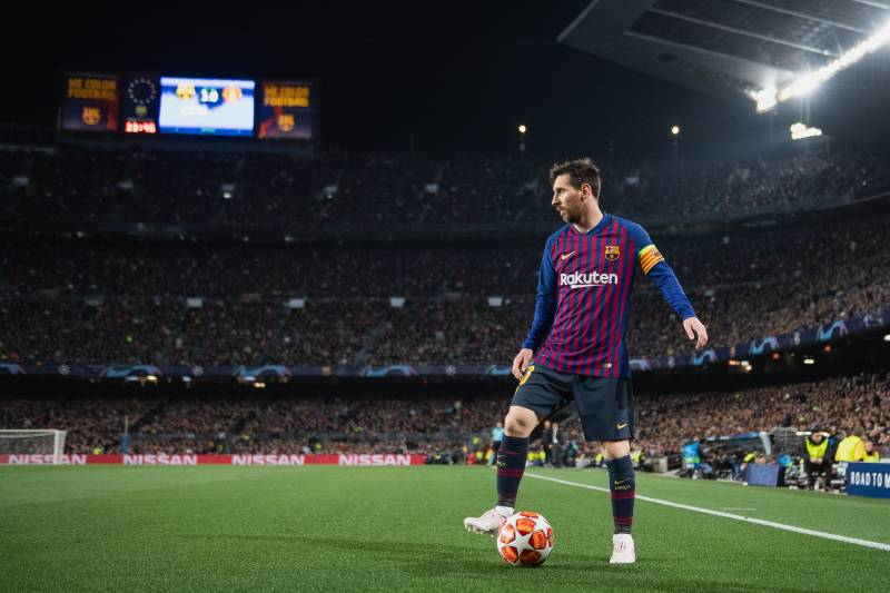 4cca7323d06 Manchester United Fans Arrived in Hope...and Then Leo Messi Turned ...