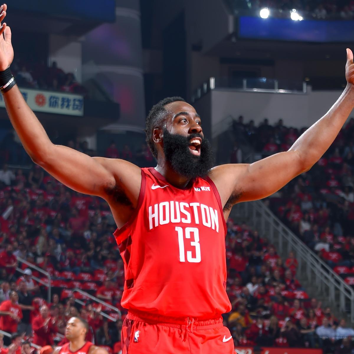 Rockets Jazz Game 2: James Harden Continues Torrid Streak As Rockets Rout Jazz