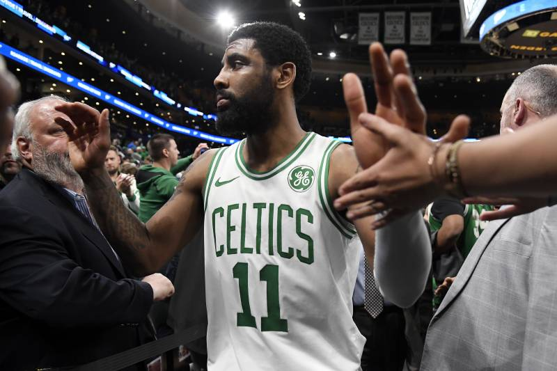 06179b160409 Kyrie Irving   Nothing Like  Playing for Celtics in Playoffs   Felt ...
