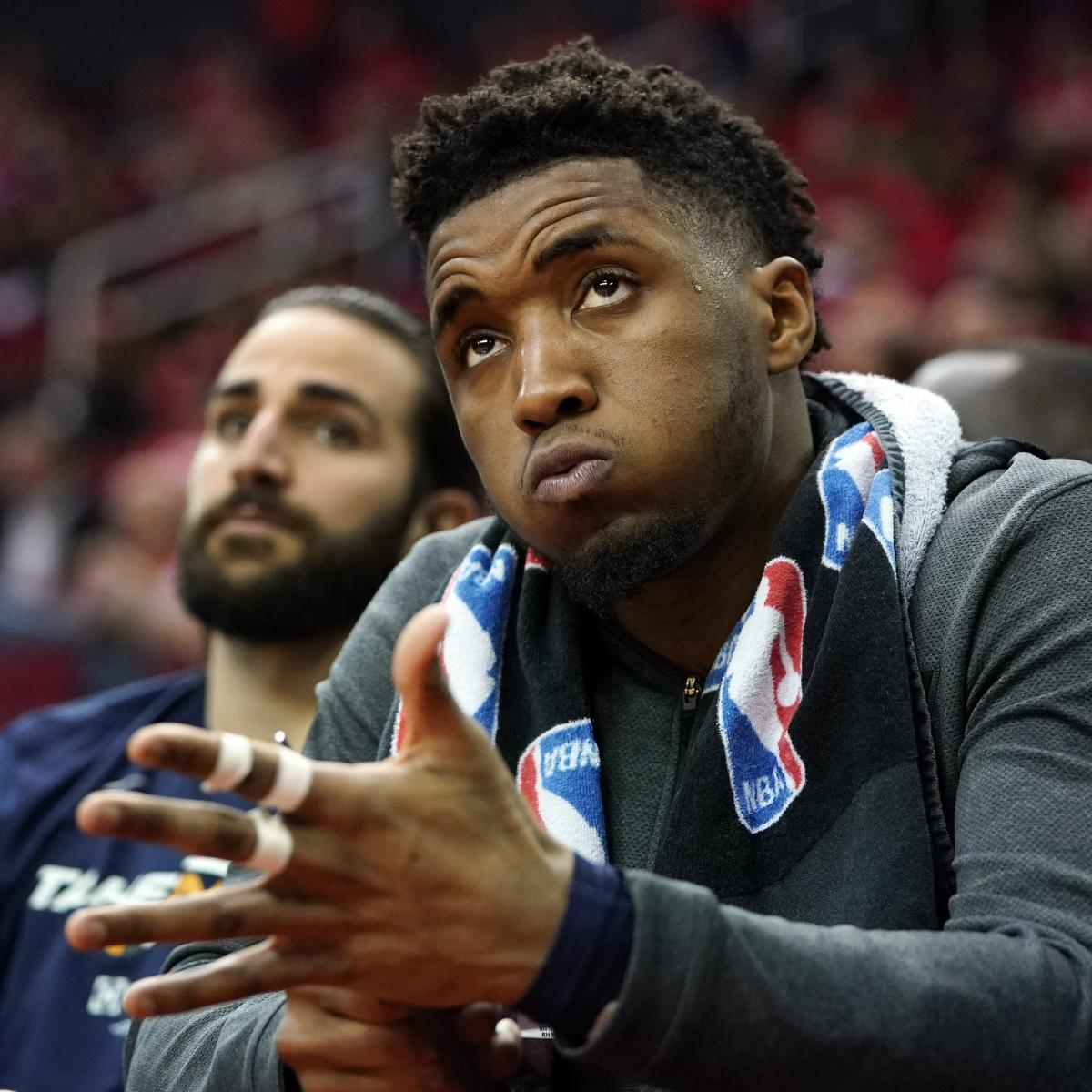 Rockets Jazz Game 2: Jazz's Donovan Mitchell On Game 2 Blowout Loss Vs. Rockets