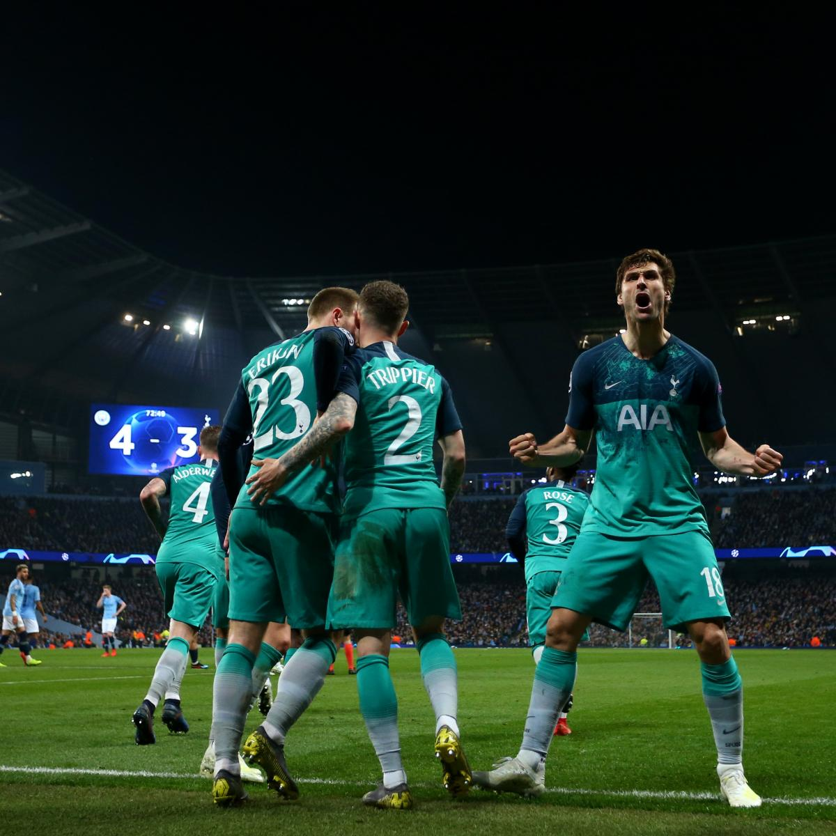 Tottenham Vs Ajax Tickets Away End: Champions League 2018-19: Semi-Final Dates Confirmed