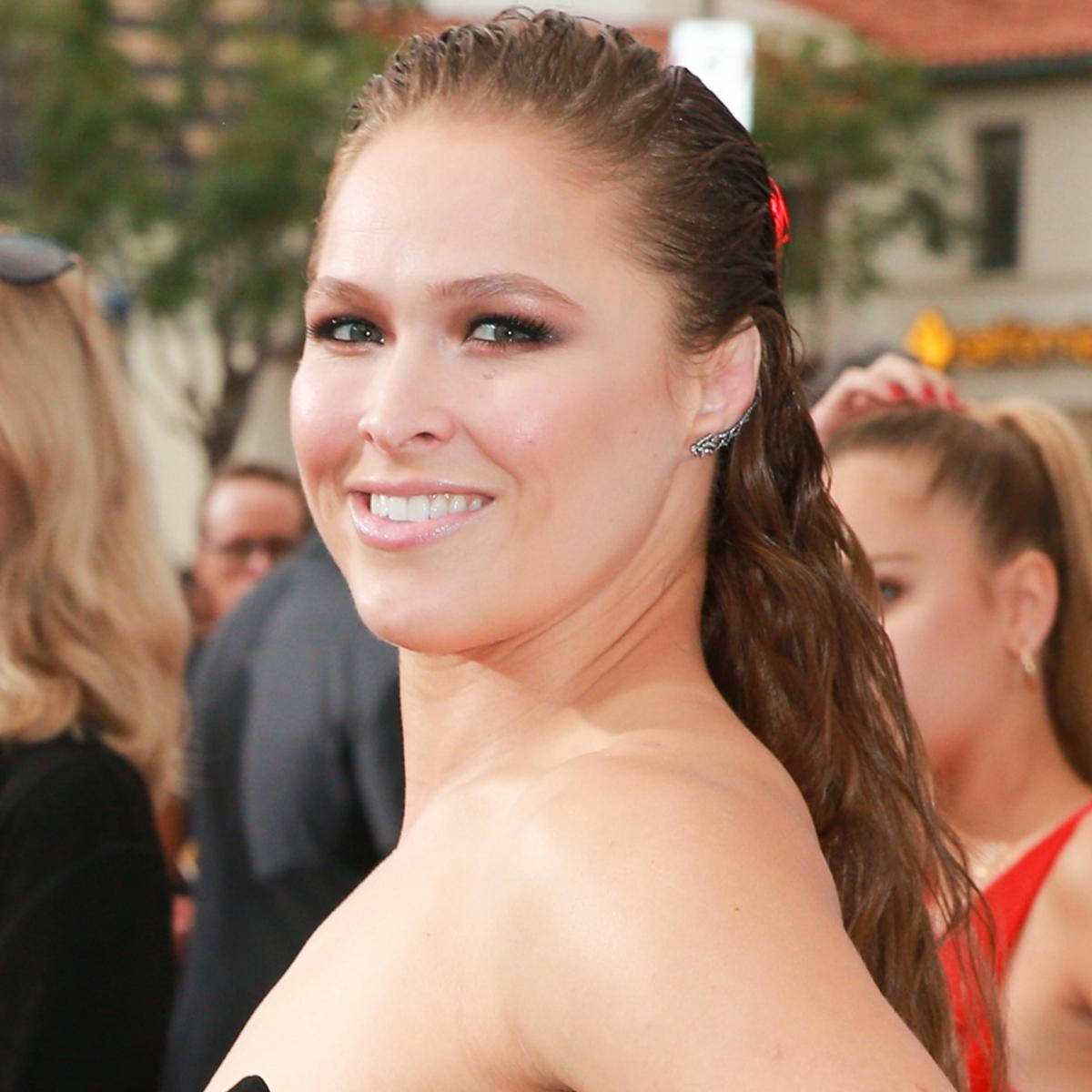 Look: Ronda Rousey Pictured In Cast After Rumored Broken