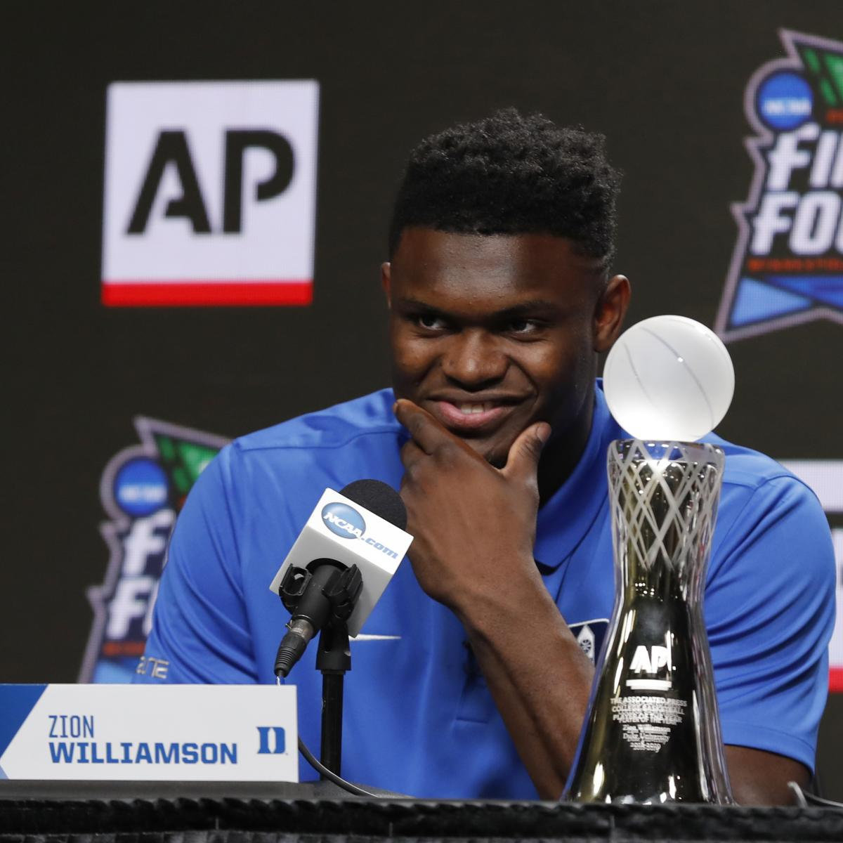 Consider Jerry West a fan of Zion Williamson. The NBA Hall of Famer and Los Angeles' Clippers advisor said on the Dan Patrick Show on Thursday that passing on the Duke superstar with the top overall pick would be a serious mistake...