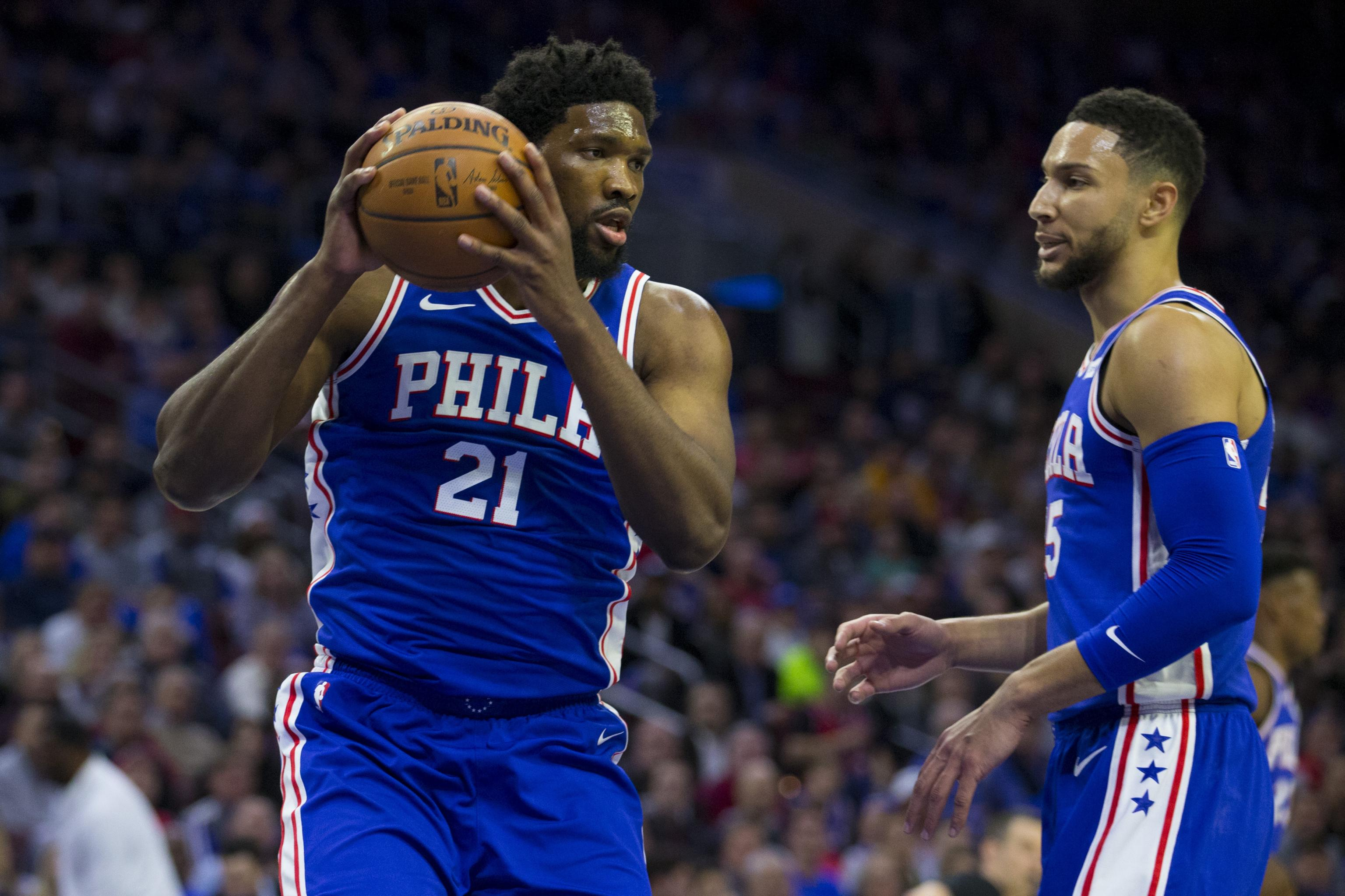 b752aa7d2449 Joel Embiid Says He Probably Should Have Been Ejected for Elbowing Jarrett  Allen