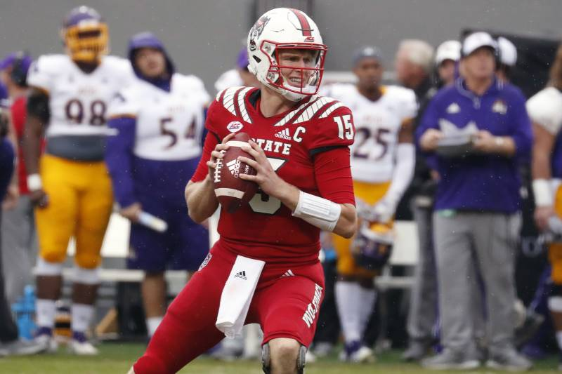 brand new 6365c 36b86 Ryan Finley NFL Draft 2019: Scouting Report for Cincinnati ...