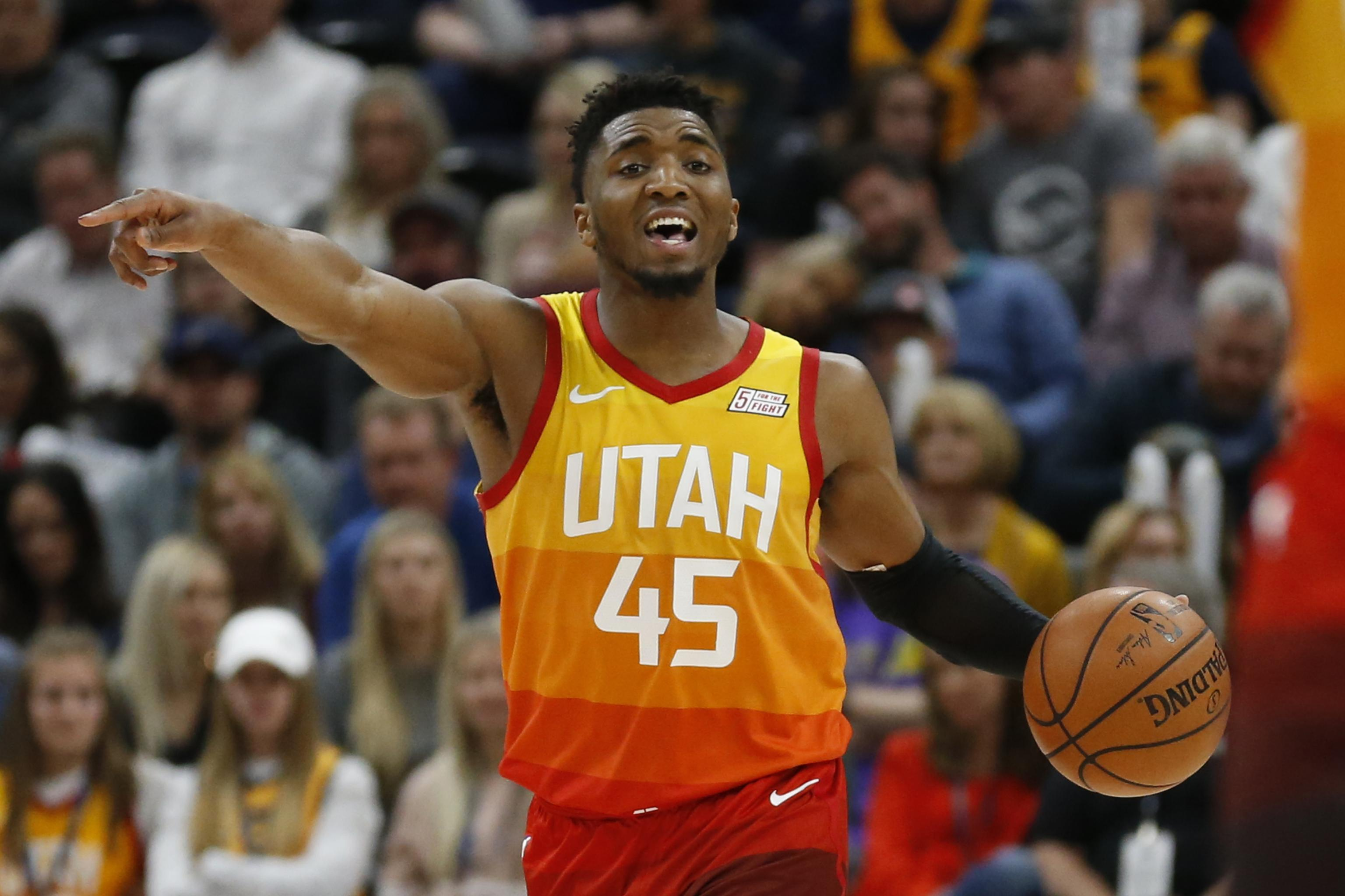 new product 01cb8 fd993 Jazz's Donovan Mitchell Admits Worrying He Was '1-Hit Wonder ...