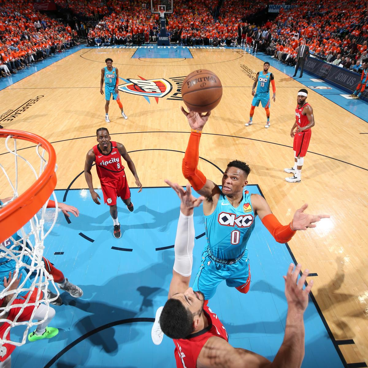 Blazers Game 3: Russell Westbrook, Thunder Hold Off Damian Lillard, Trail
